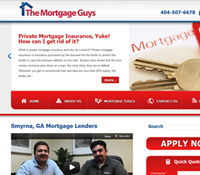 Atlanta, GA Web Design - Mortgage Guys Atlanta