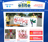 Milledgeville GA Web Design - Elite Gym