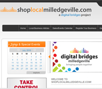 Milledgeville GA Web Design - Shop Local Milledgeville