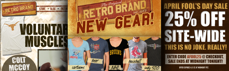 Email Marketing for Original Retro Brand of Los Angeles, CA