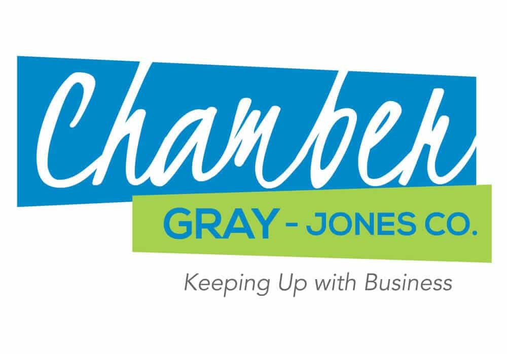 Gray – Jones County Chamber Logo Design