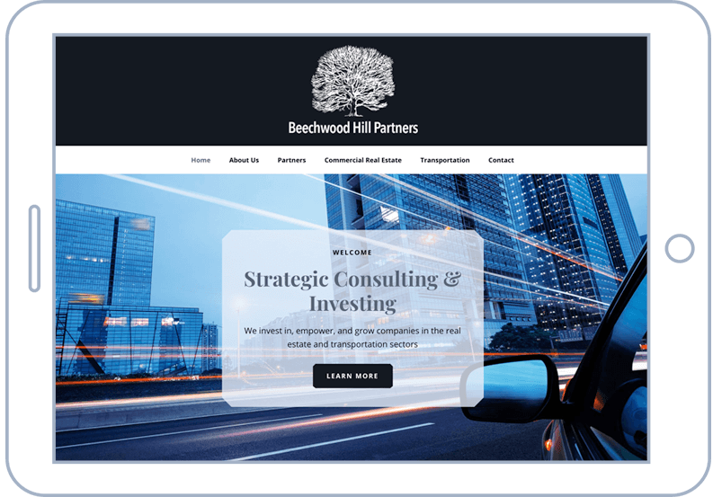 Atlanta Web Design For Beachwood Hill Partners